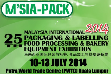 Malaysia International Packaging & Labelling,Food Processing & Bakery Equipment Exhibition