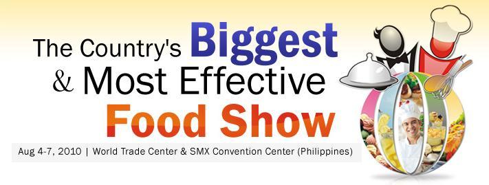 菲律賓國際食品展WORLD FOOD EXPO