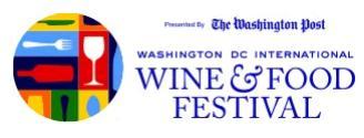 2013華盛頓DC 美食與葡萄酒節