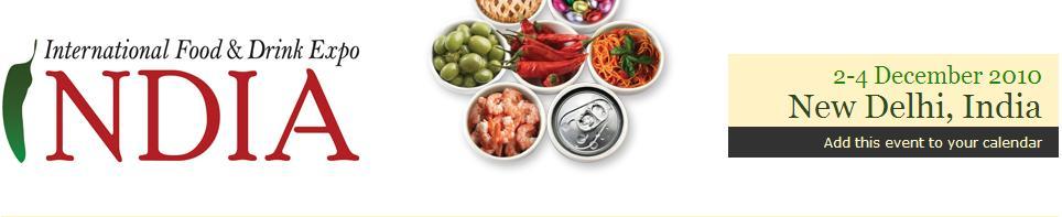 印度國際食品展