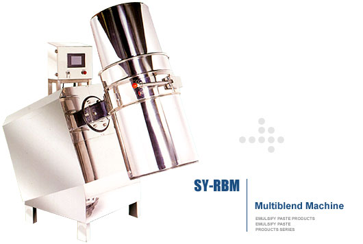 SHANG YUH MACHINE CO., LTD.-Multiblend MachineSY-RBM