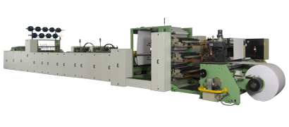 LINE O MATIC GRAPHIC INDUSTRIES-Fully Automatic Exercise Book Machine (NOVA RB91)