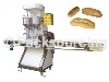 Bread slicing and filling machine