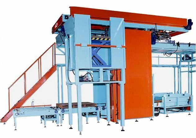 High Flow De-Palletizer Option