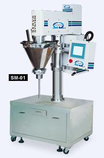 Semi-auto Auger Type Powder Metering Filling Machine 〔Small Model〕/SM-01